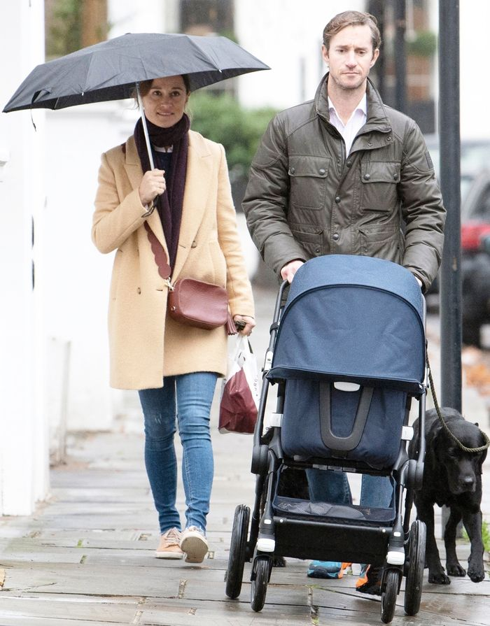 Pippa Middleton Wore Zara's Best $70 Coat With Skinny Jeans