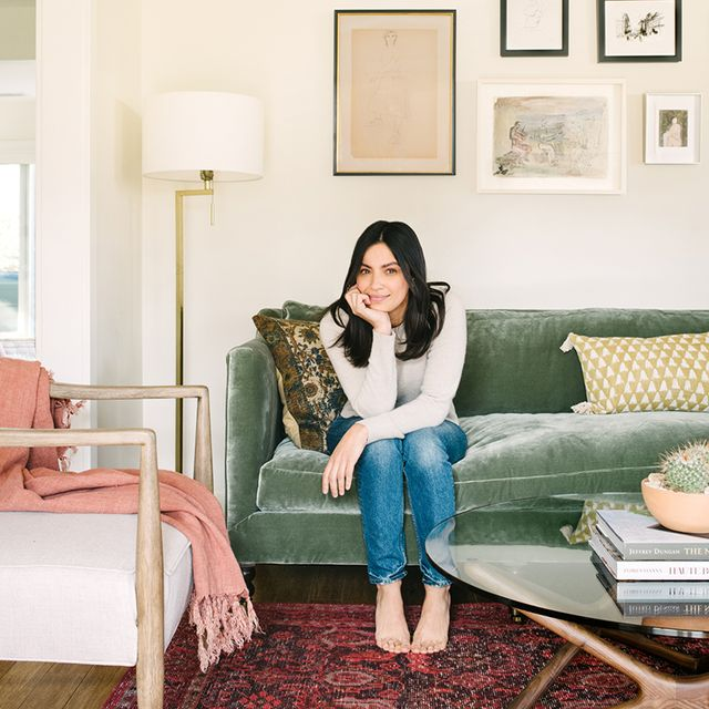 Step Inside An Actress's Cosy and Eclectic Living Room