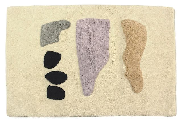 Cold Picnic Desert Rocks Bathmat