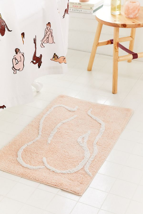 Urban Outfitters Bathing Beauty Bath Mat