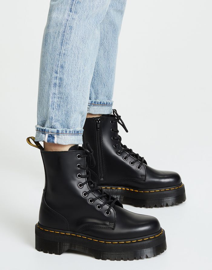 96fd995b040 See How Everyone Is Styling the Dr. Martens Jadon Boots