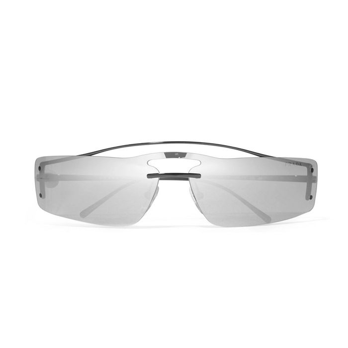 26cd7376fc41 Linda Farrow Mirrored Rose-Gold Plated Round Sunglasses (£790) · Pinterest