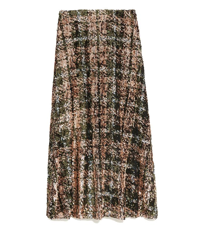 a3369c3d9 Zara Sequin Skirts: the 3 Styles Everyone Is Wearing | Who What Wear UK
