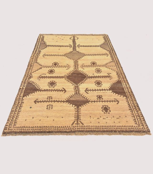 Hand Knotted Shiraz-Gabbeh Persian Rug