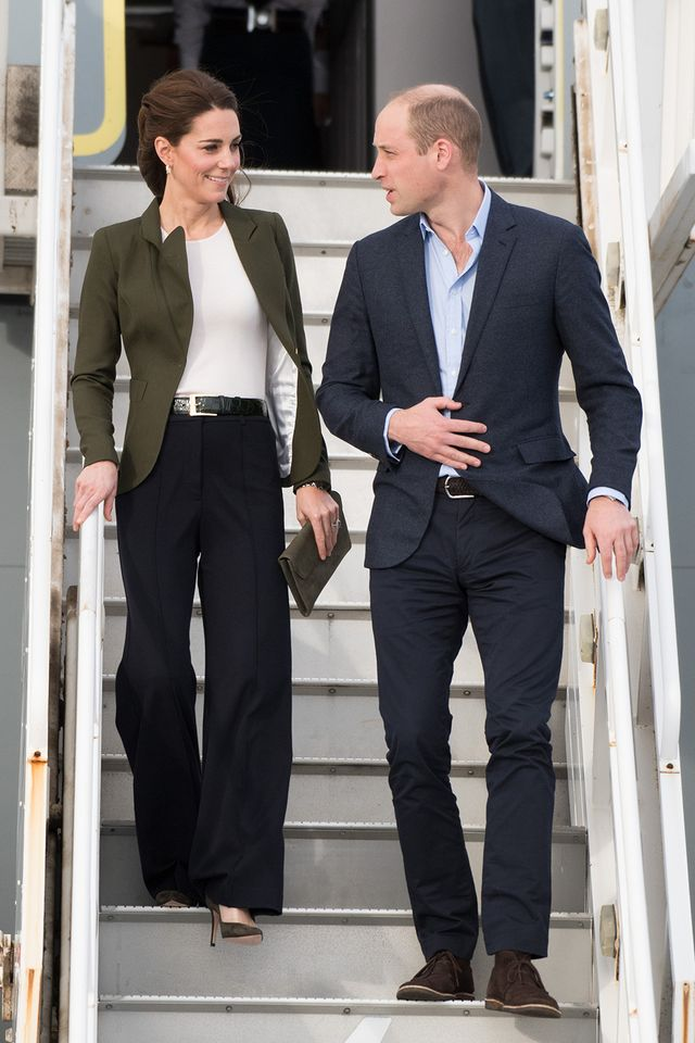 Kate Middleton wore the 2019 anti–skinny jeans trend