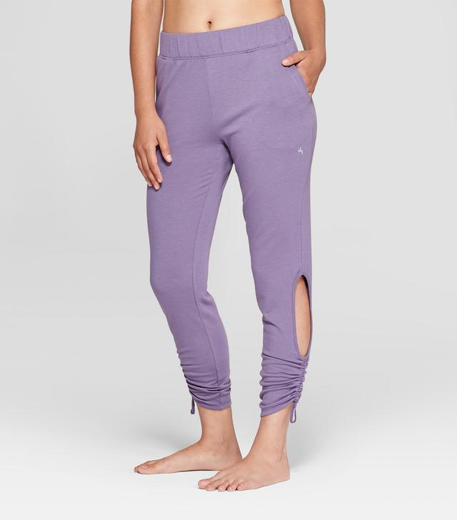 JoyLab Fleece Cut-Out Jogger Pants