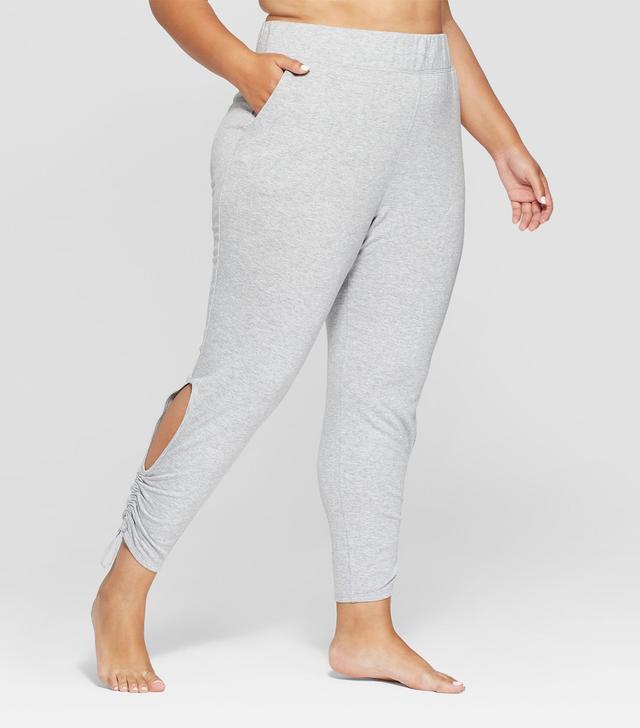 JoyLab Cut-Out Fleece Pants