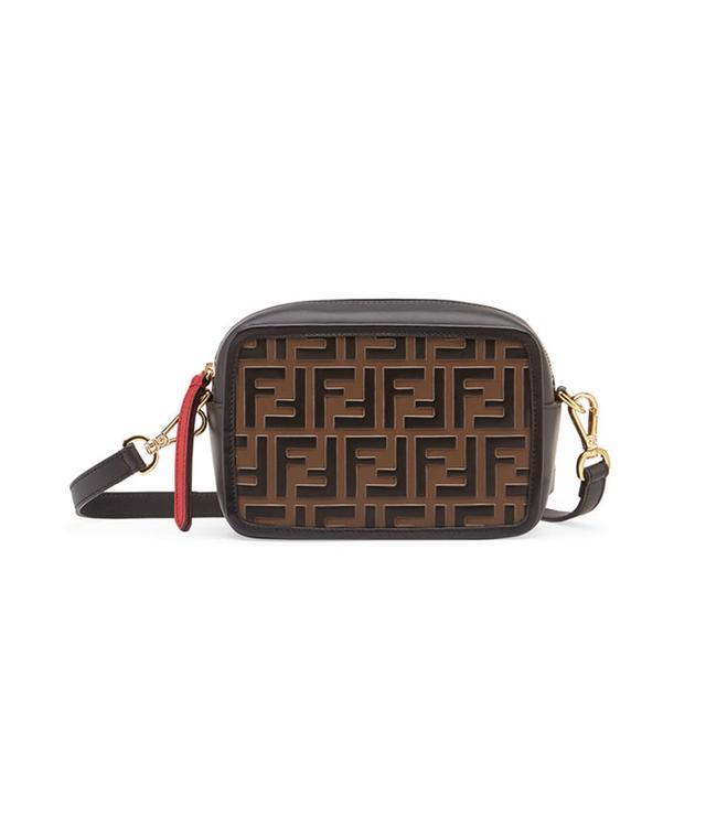 Fendi Mini FF Leather Camera Case