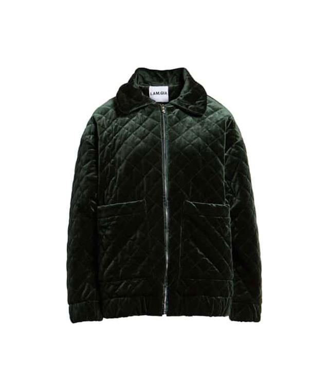 I.Am.Gia Contraband Quilted Velvet Jacket