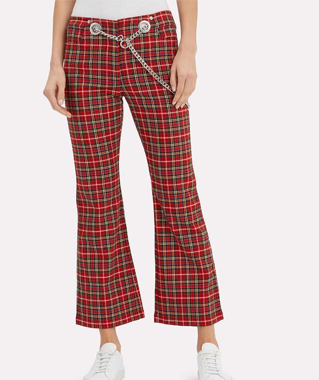 Miaou Miaou Morgan Plaid Pants