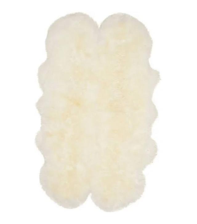 Safavieh Prairie Natural Pelt Sheepskin
