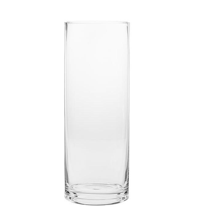 Pottery Barn Aegean Clear Glass Vase