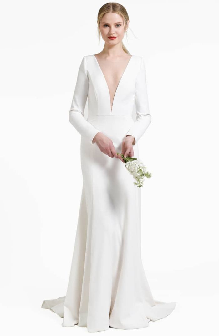 20 Simple Winter Wedding Dresses For The Unfussy Bride