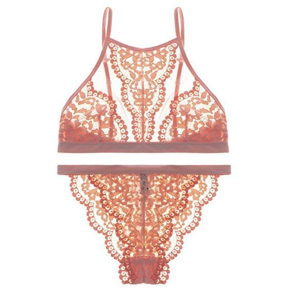 6e31f9b2571f5 20 Pretty Bra and Panty Sets You Can Find on Amazon | Who What Wear