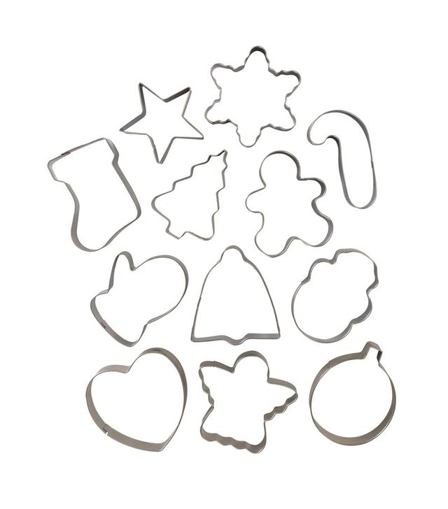 Nordic Ware Stainless Steel Holiday Cookie Cutter Set
