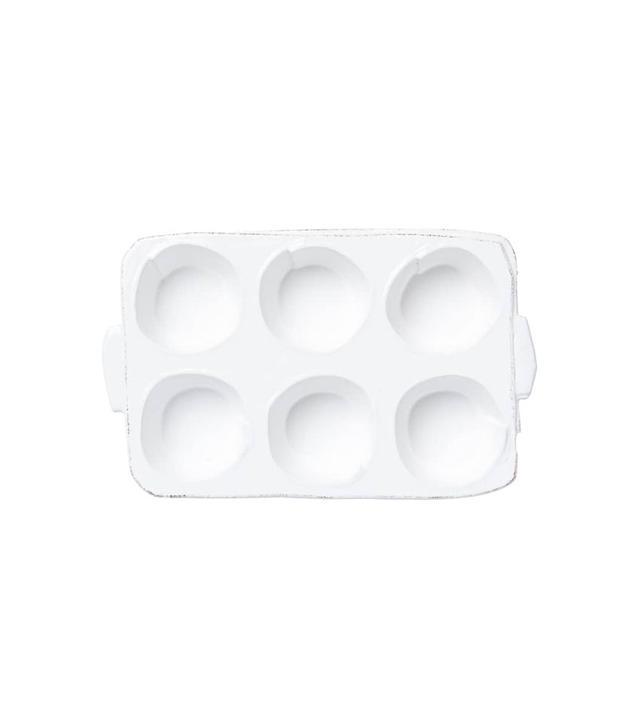 Vietri Lastra Stoneware Muffin Tray