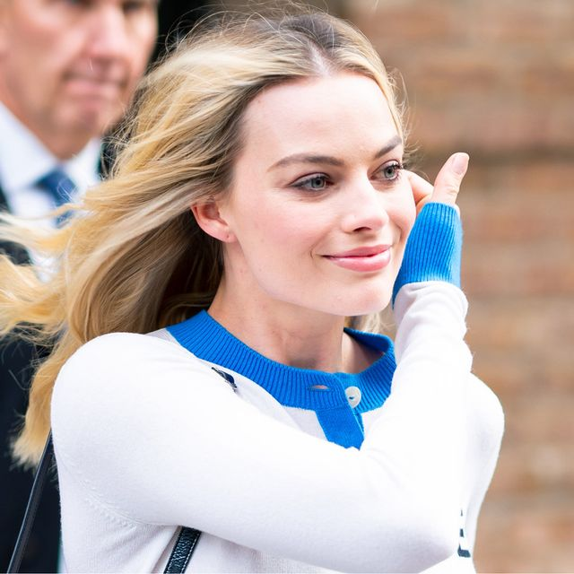 Margot Robbie Wore the Denim Trend I'd Give Up Skinny Jeans For
