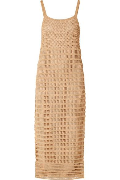 Elizabeth and James Edna Crochet Cotton Maxi Dress