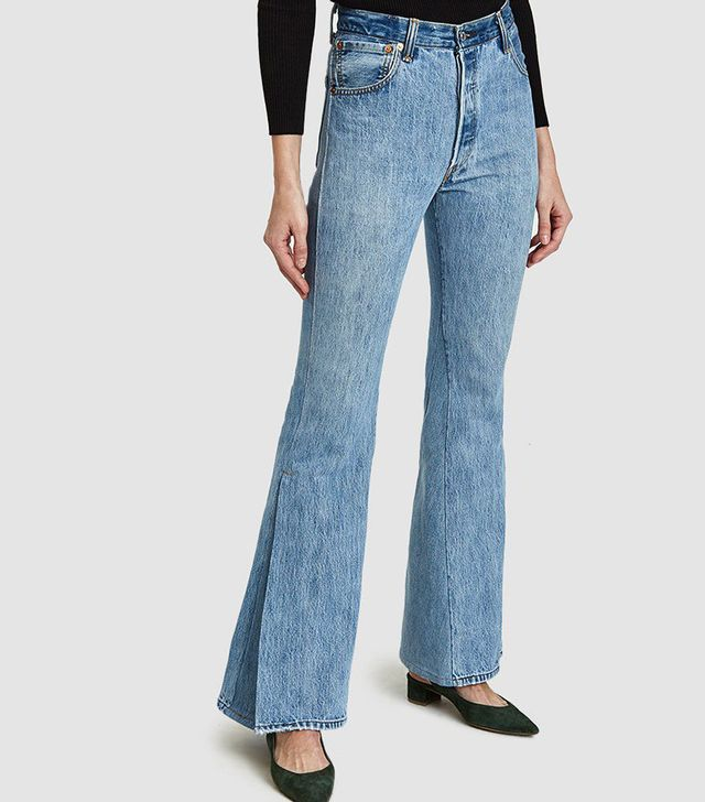 Re/Done Slit Jeans