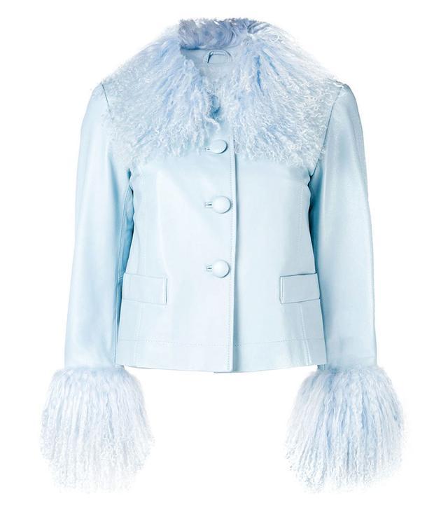 Saks Ootts Lamb Fur Jacket