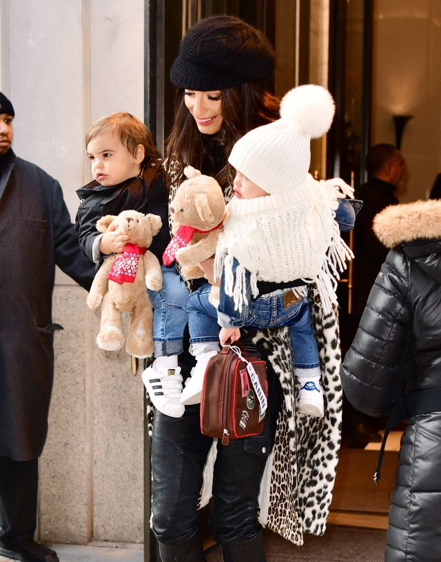 Amal Clooney With Her Twins