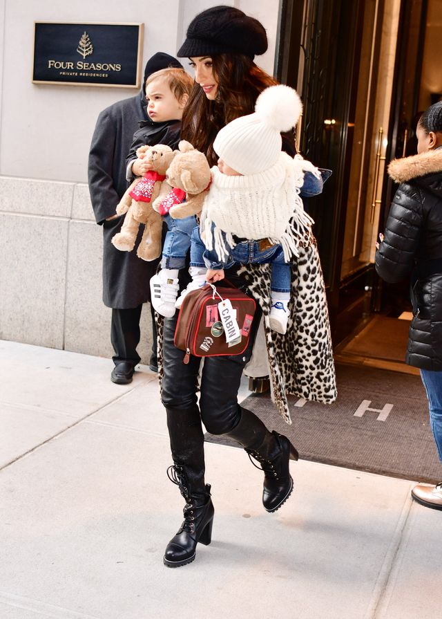 Amal Clooney With Her Twin Daughter and Son Alexander and Ella