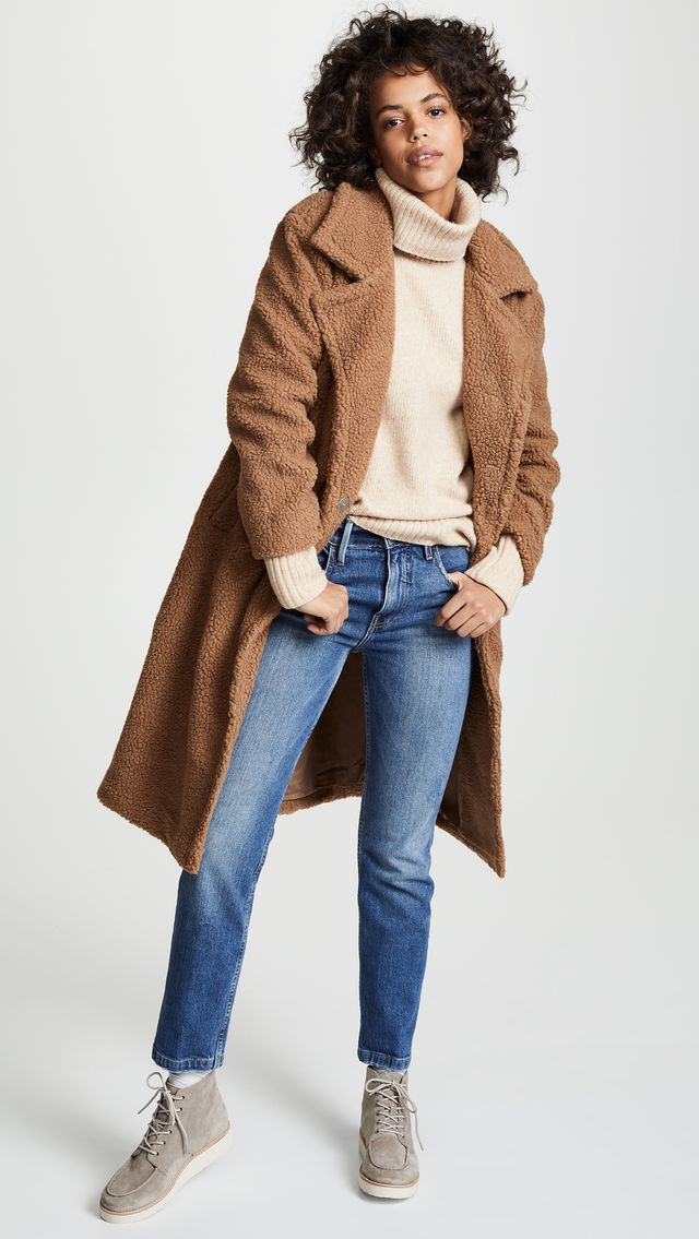 J.O.A. Teddy Coat