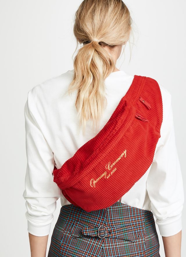 Opening Ceremony Corduroy Fanny Pack