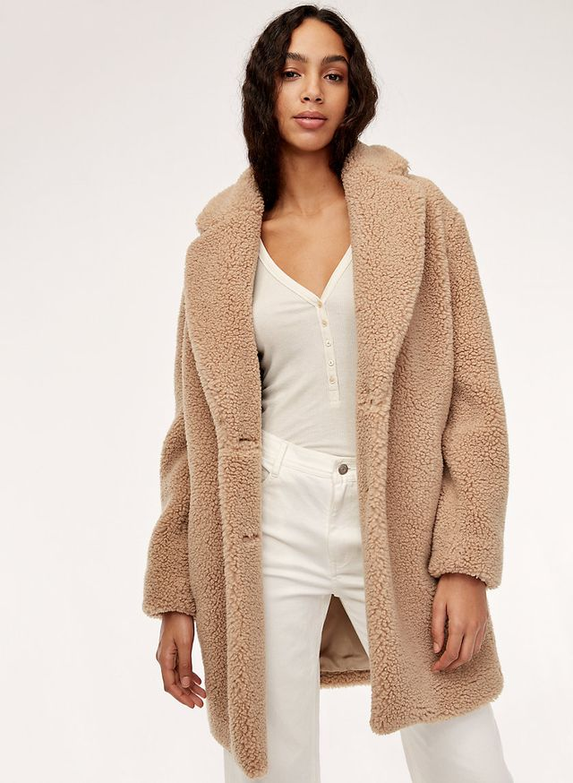 Wilfred Free Teddy Cocoon Coat