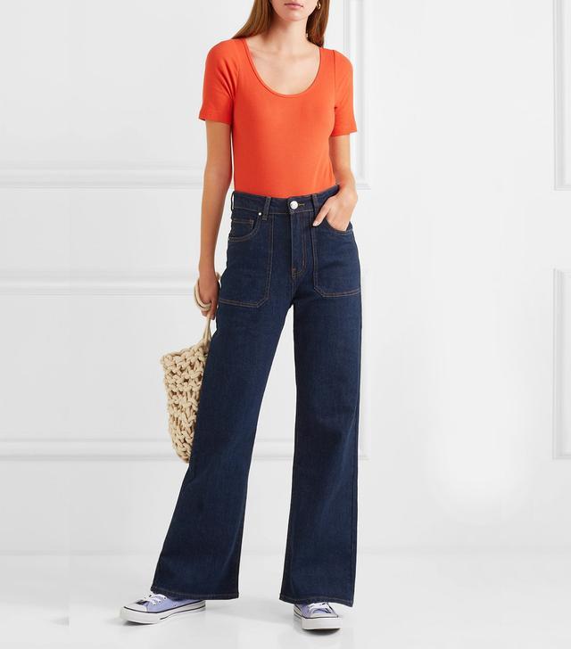 L.F. Markey Jimbo High-Rise Wide-Leg Jeans
