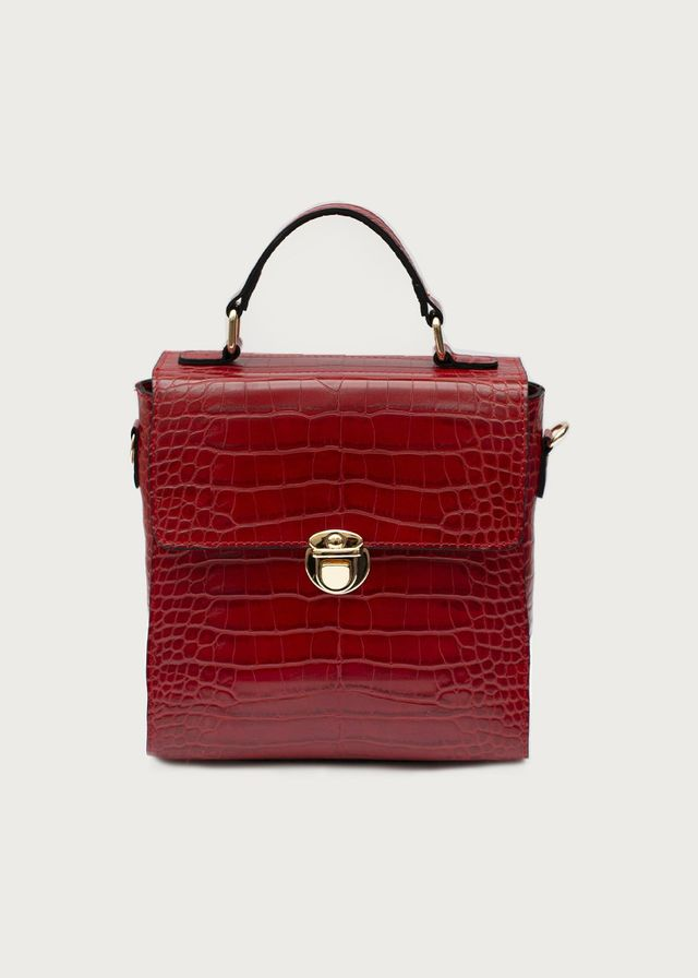 best croc embossed handbag colors