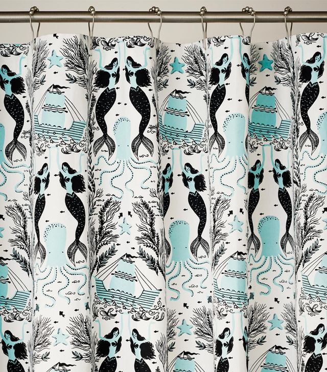 Hygge & West Mermaids Shower Curtain