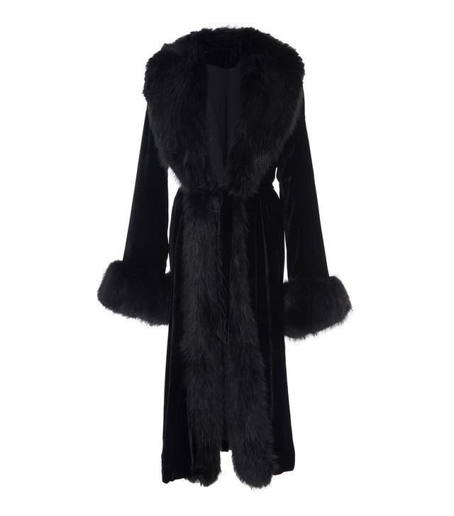 Marei 1998 Mayflower Silk Velvet Coat