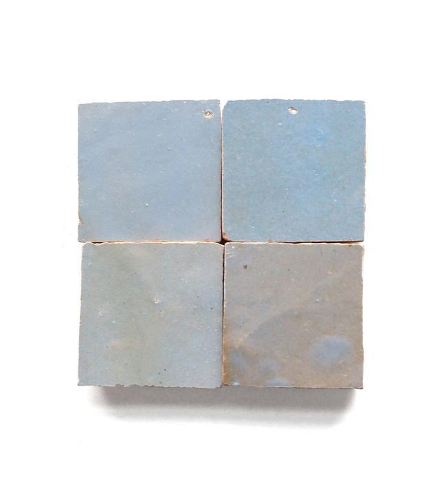 Clé Tile Shattered Pearl Zellige Tile