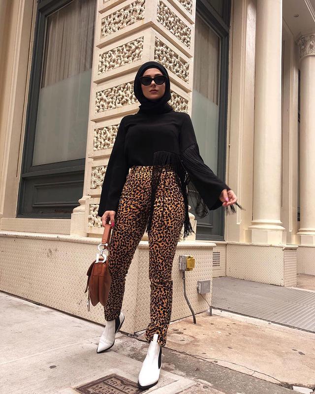 affordable leopard pants