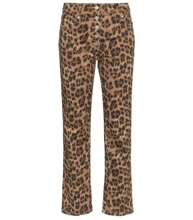 Miaou Junior Leopard Print Slim Trousers