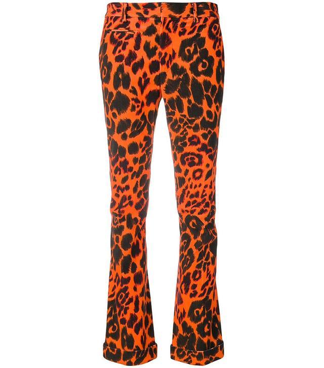 R13 Leopard Trousers