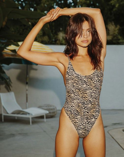 Glassons Tiger Print One Piece