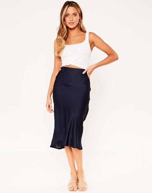 Glassons Silky Midi Skirt