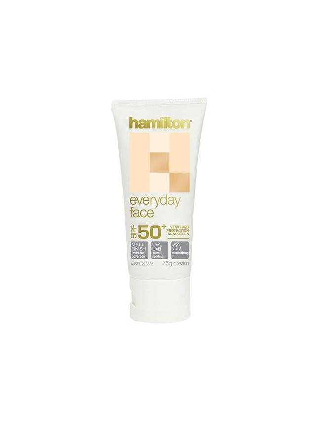 Hamilton SPF 50+ Everyday Face Cream