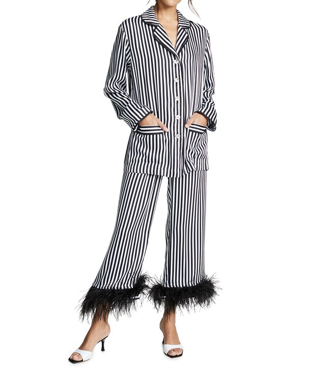 Sleeper Striped Pajama Set