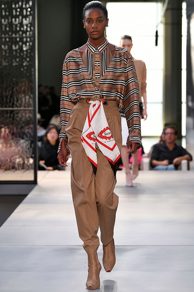 Burberry vintage check: Riccardo Tisci's first collection for spring 2019