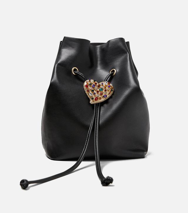 Zara Heart Buckle Bag