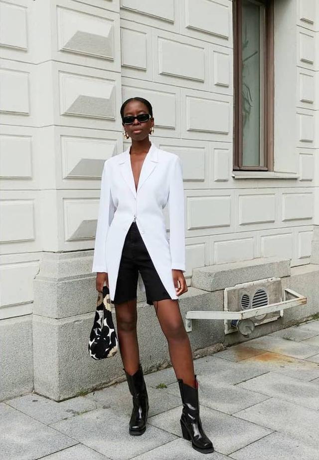 Zara fashion trends: bike shorts