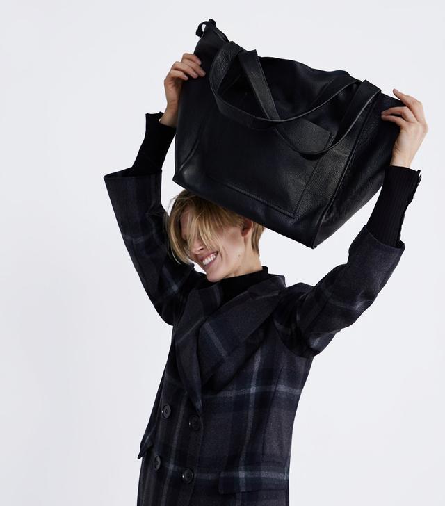 Zara Leather Shopper