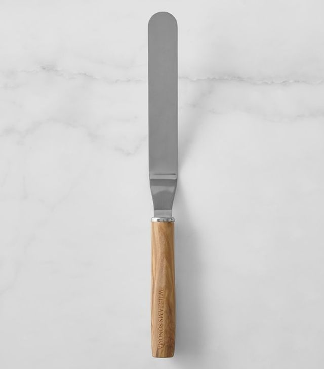 Williams Sonoma Olivewood Offset Icing Spatula