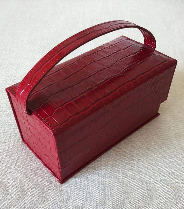 L'Afshar Ida Red Bag