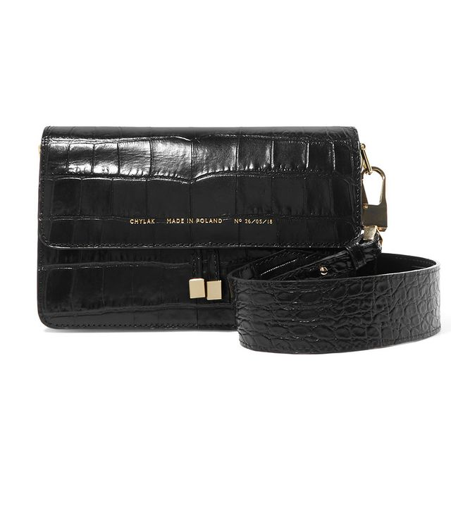 Chylak Croc-Effect Shoulder Bag