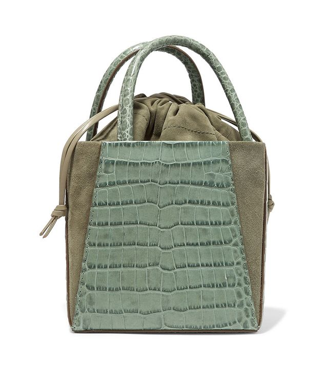 Trademark Dorthea Box Croc-Effect Bag