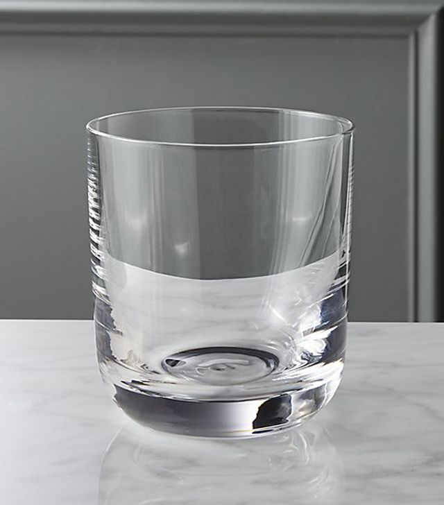 CB2 Watson Double Old-Fashioned Glass